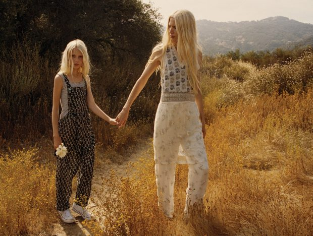 Family Affair '90s Supermodel Kirsty Hume & Daughter Violet for Malibu
