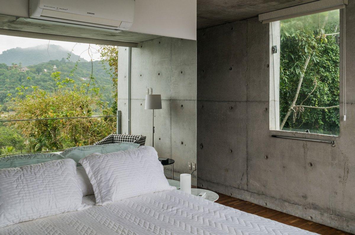 оформление спальни в частном доме