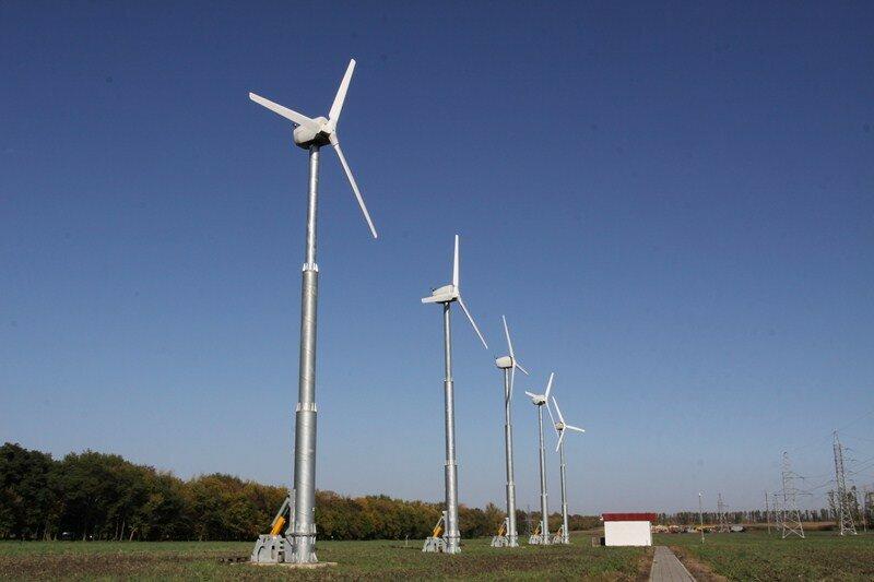 Ветрогенераторы в Яковлевском районе