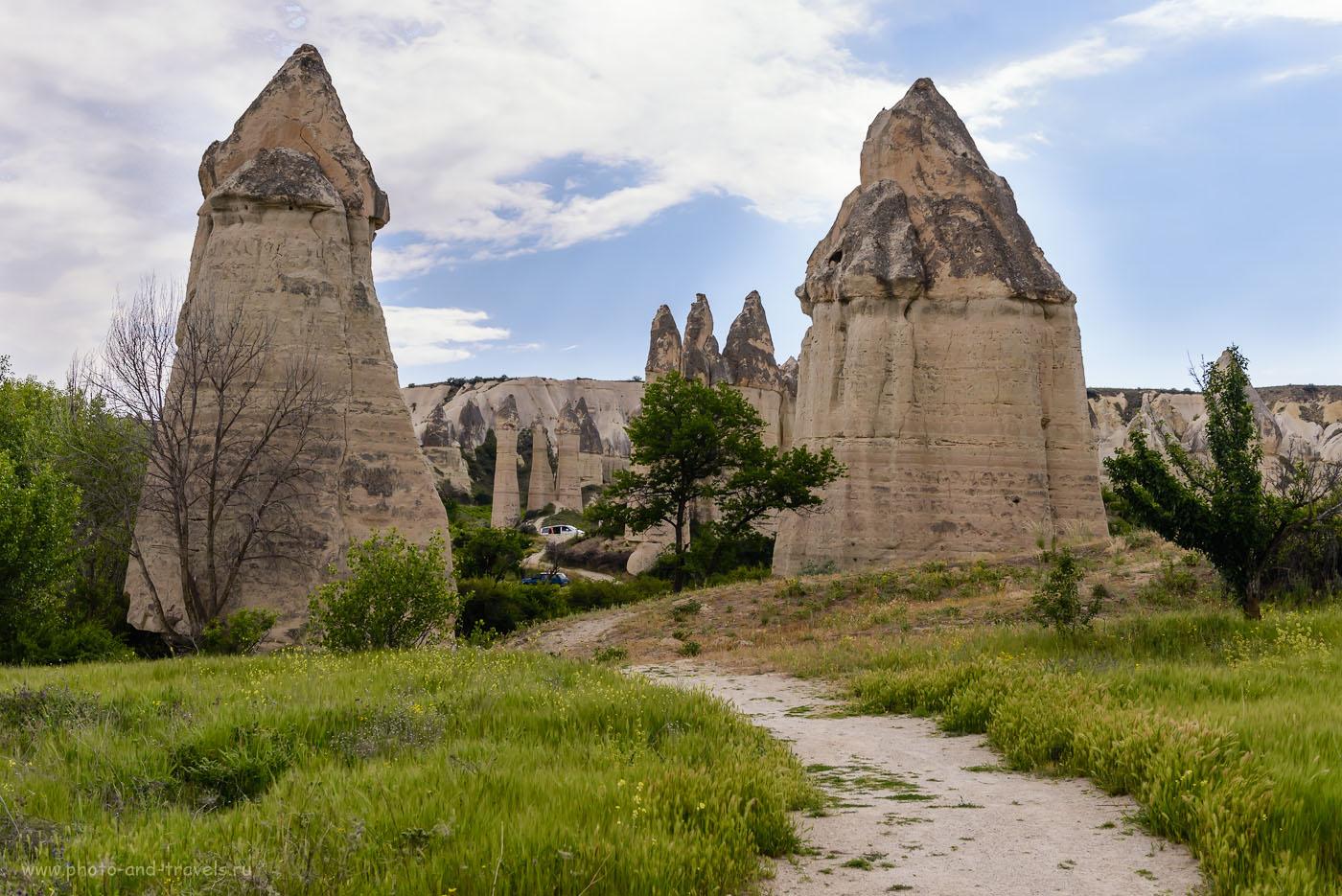 Фотография 36. Вход в Долину любви в Каппадокии. Будете покупать туры в Турцию, подумайте об организации экскурсии в этот регион. 1/500, -0.67, 8.0, 250, 40.