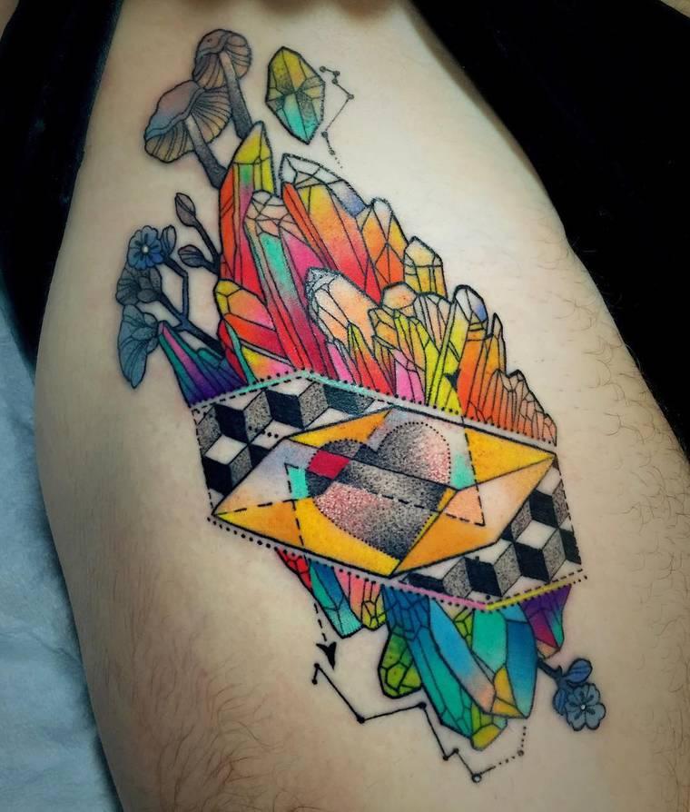 As tatuagens ultra-coloridas de Kshocs
