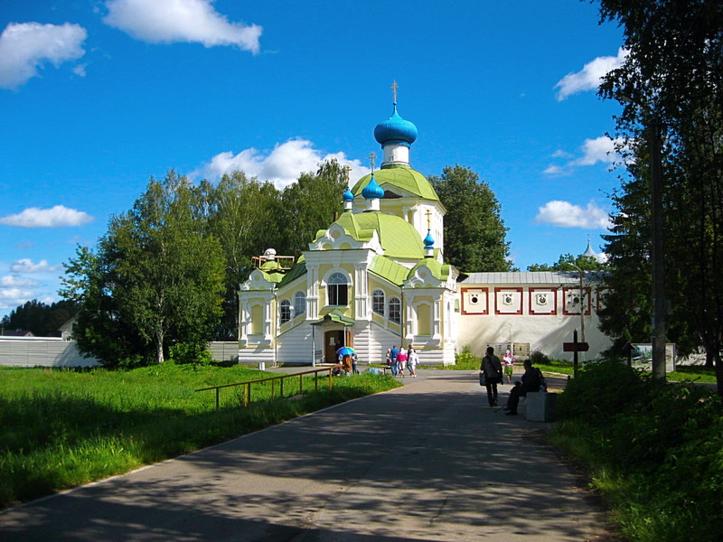 Тихвинский Богородичный Успенский мужской монастырь 1