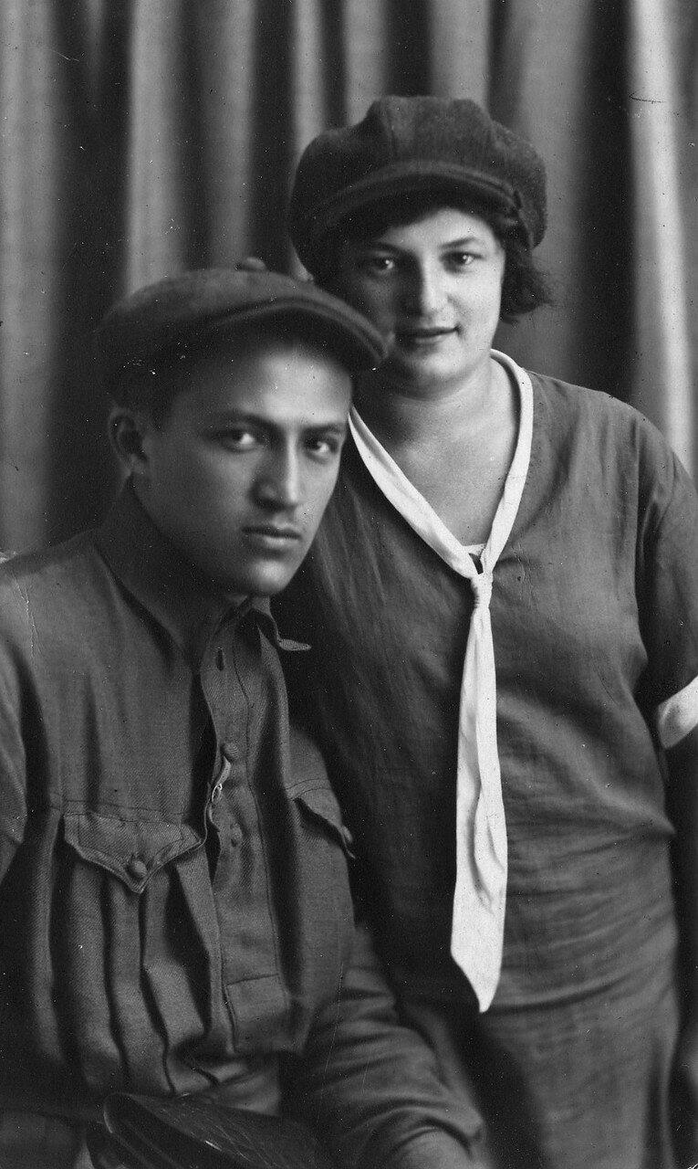 Самуил и Берта Лясс