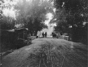 Чирчик (Сырдарьинская область). На мосту