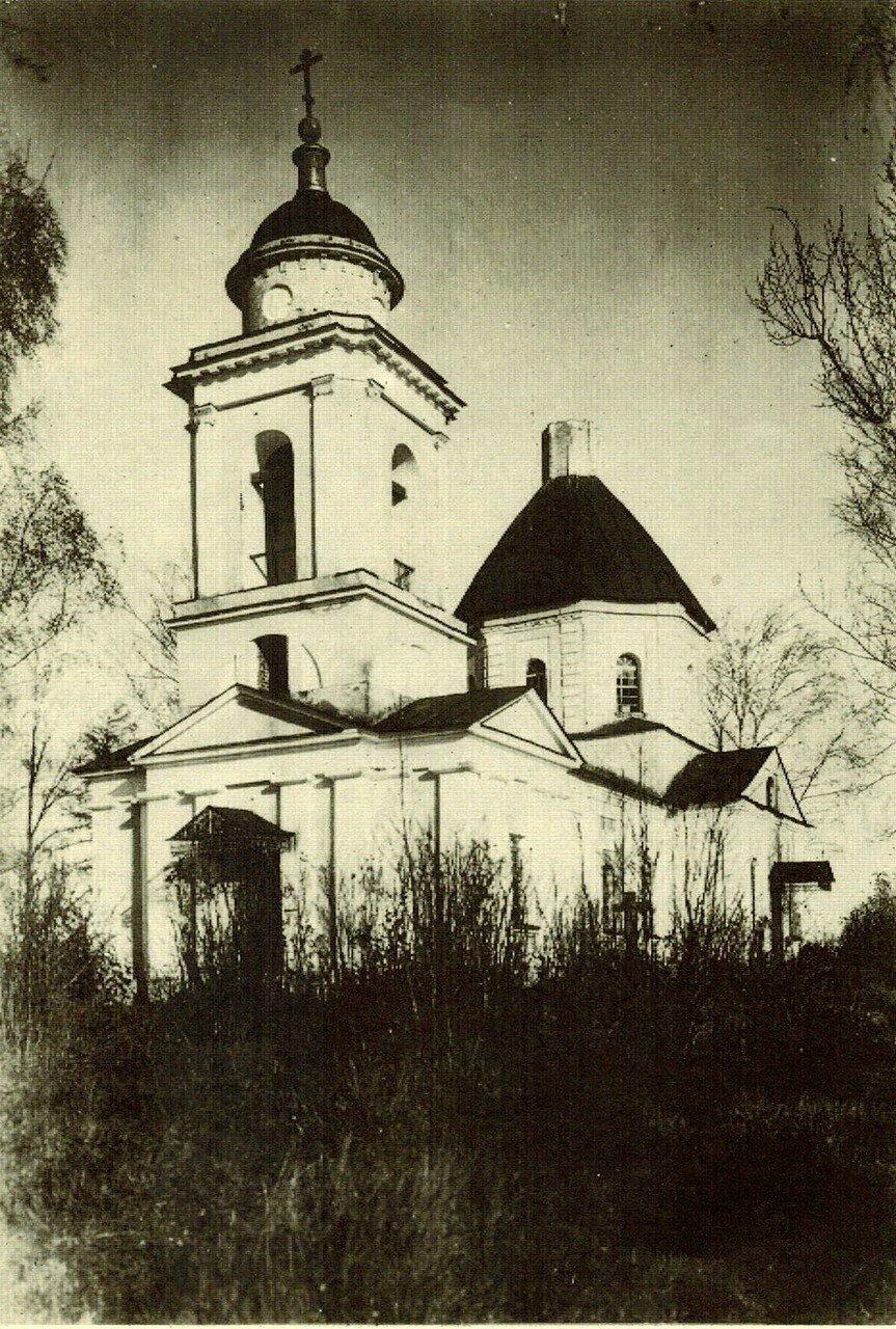 1929. Церковь в Дальней Троице