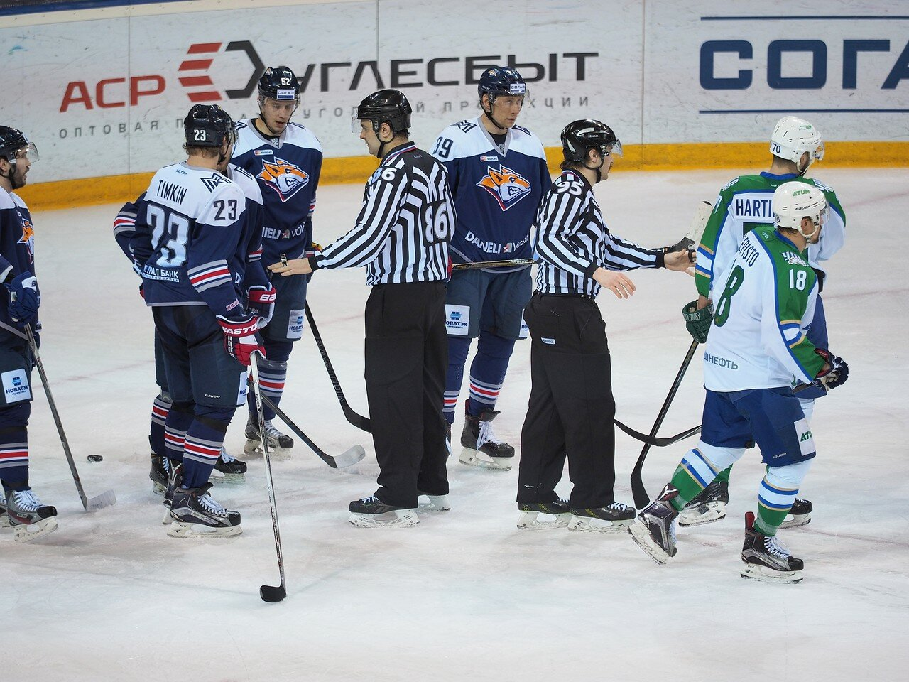33Плей-офф 2016 Восток Финал Металлург - Салават Юлаев 25.03.2016