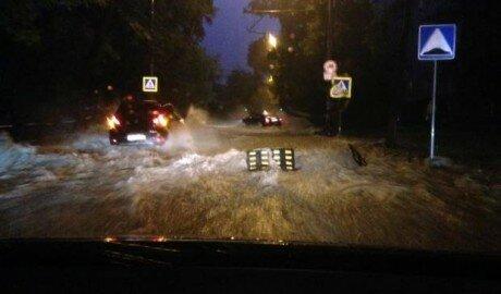 Ливневые дожди в Молдове могут вызвать чрезвычайное положение