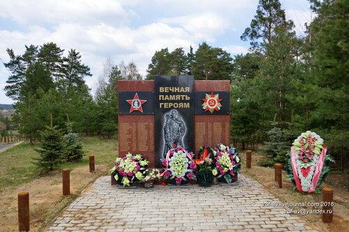 Памятник погибшим в ВОВ землякам, Луцино