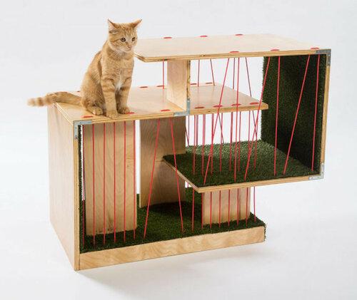 Игровой домик для кошки