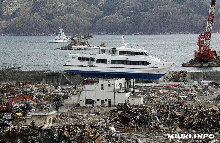 Землетрясение 2011. Пять лет после цунами в Японии