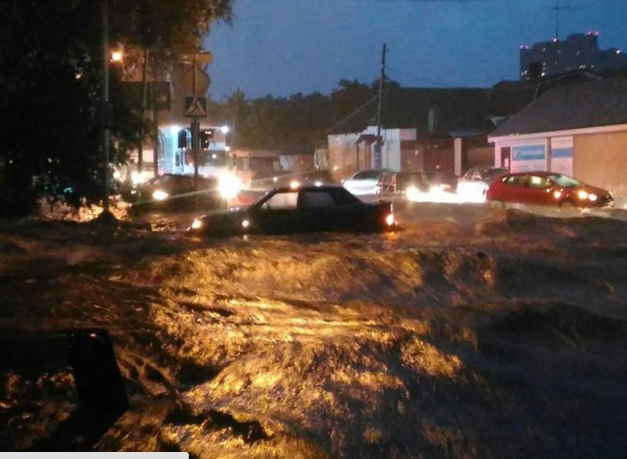 Flood in southern Russia