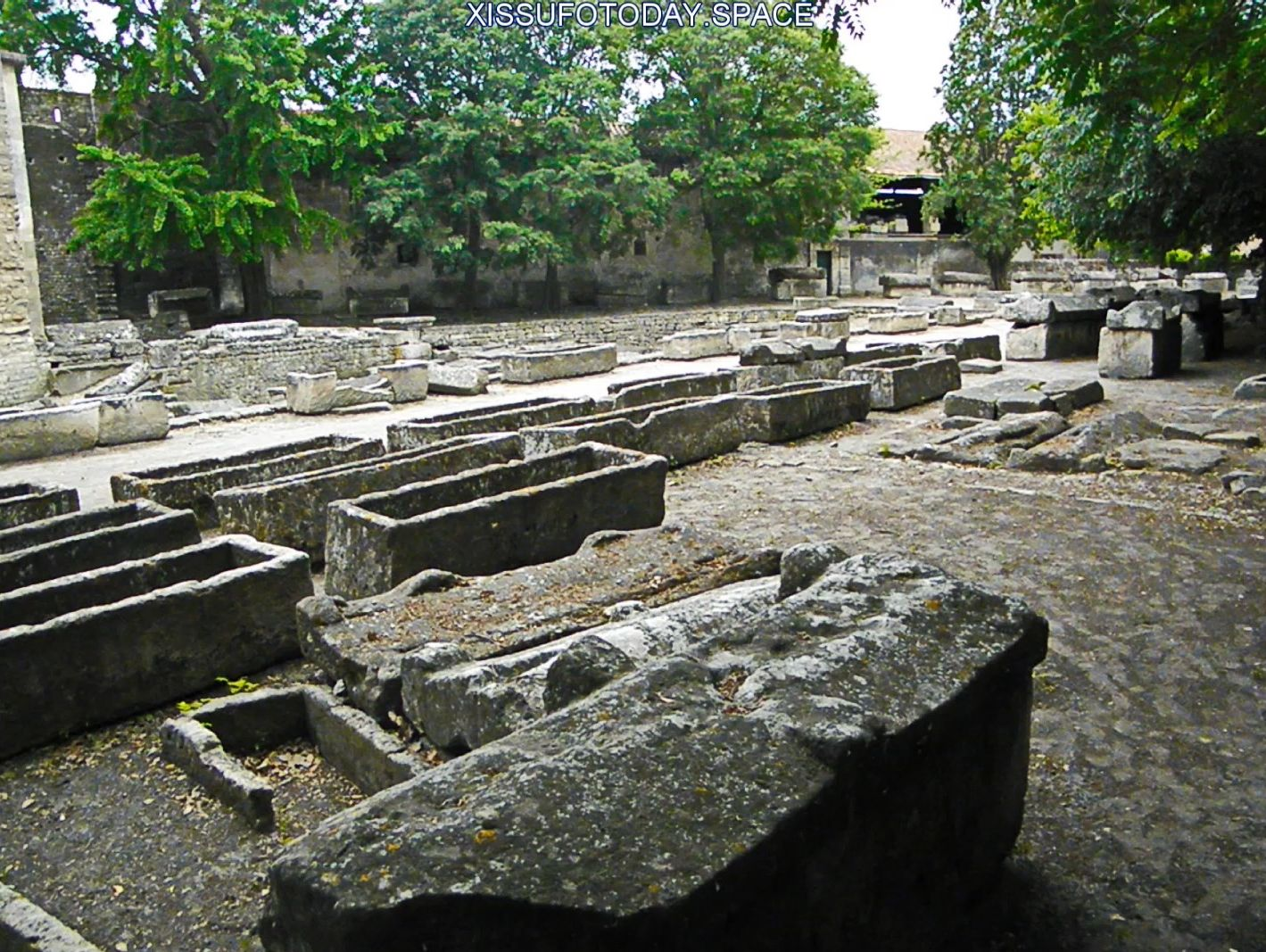 Stone coffins