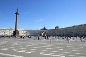 Достопримечательности Санкт-Петербурга: Александровская колонна