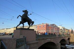 Достопримечательности Санкт-Петербурга: Аничков мост
