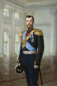 Эрнест Липгарт, картина «Портрет императора Николая II».jpg