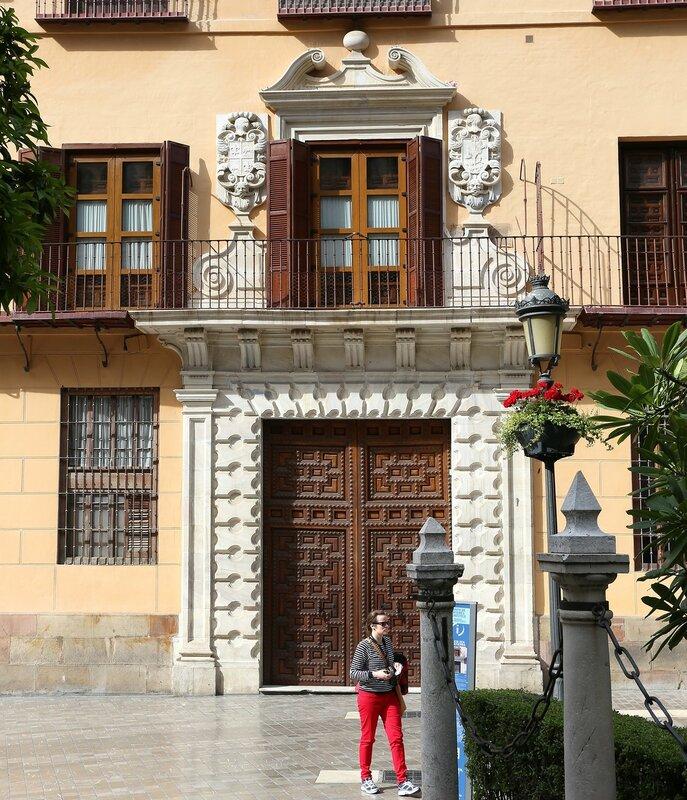 Малага. Дворец Сеа Сальватерра (Palacio Zea Salvatierra)