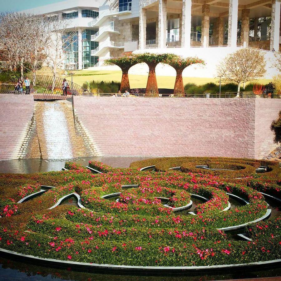 9. Центр Гетти (Лос-Анджелес, Калифорния) Комплекс Гетти порадует своих посетителей удивительной арх