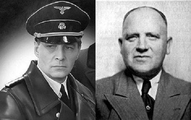 Вячеслав Тихонов, Вильгельм Леман У Штирлица был реальный прототип — гестаповец Вильгельм Леман, кот