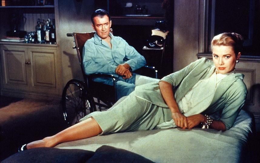 6. 1954 год. Джеймс Стюарт и Грейс Келли в фильме «Окно во двор».