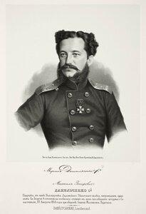 Михаил Иосифович Данильченко, поручик, в чине подпоручика Ладожского пехотного полка