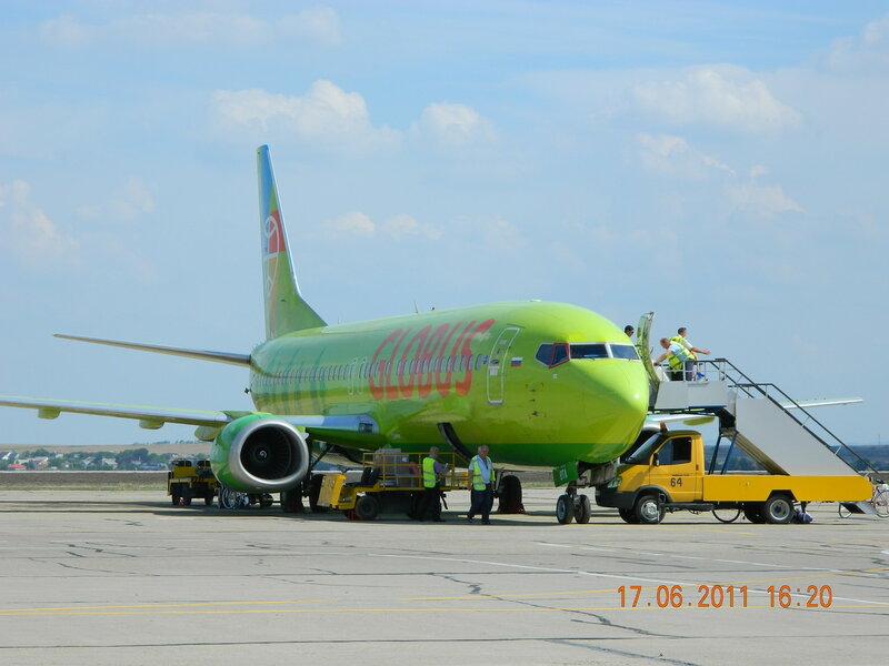 Самолет в Анапе