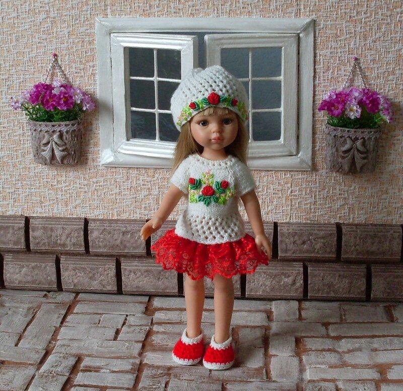 Вышивка для кукольной одежды