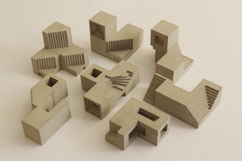 Concrete Architectural Sculptures by David Umemoto