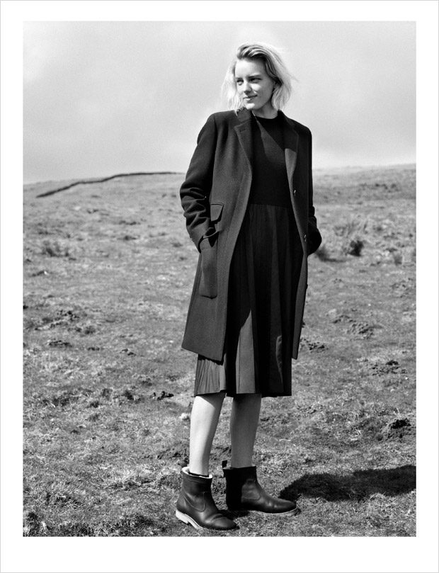 Erika Linder Stars in Margaret Howell Fall Winter 2016.17 Ads