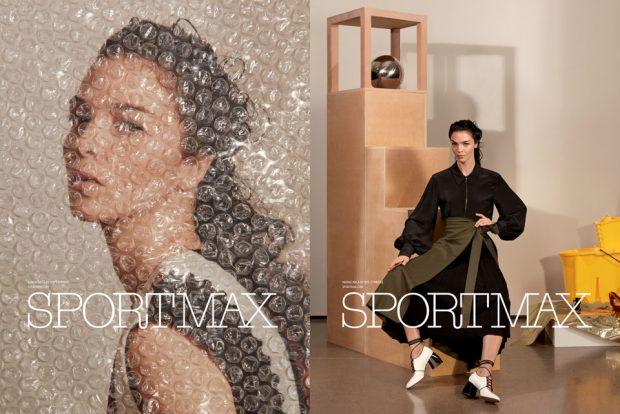 Supermodel MARIACARLA BOSCONO Is The Face of SPORTMAX