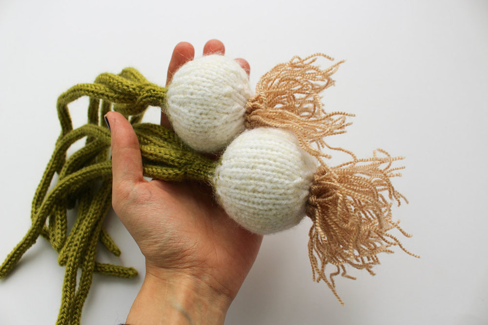 Knit Fruits and Veggies by 'MapleApple' Look Good Enough to Eat