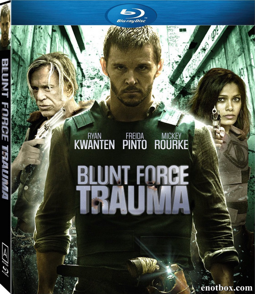 Шальное ранение / Blunt Force Trauma (2015/BDRip/HDRip)
