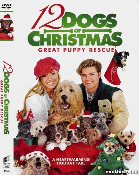 12 рождественских собак 2 / 12 Dogs of Christmas: Great Puppy Rescue (2012/TVRip)