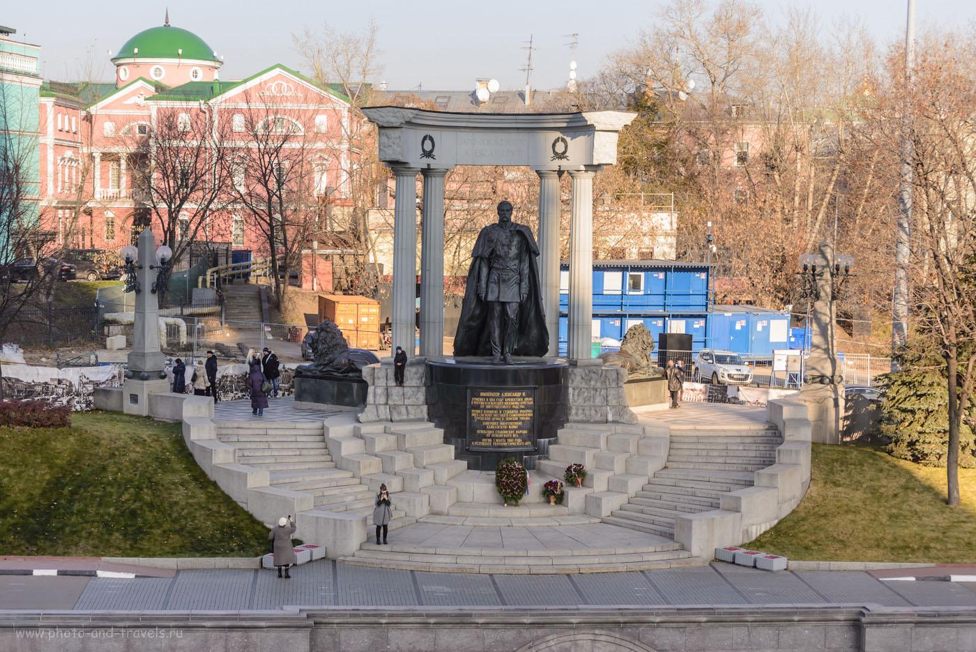 Фото 13. Царь Александр II в 1861 году отменил рабство в России… через 901 год после его запрета в Венеции (в 960 году нашей эры). Прогулка по достопримечательностям в центре Москвы.
