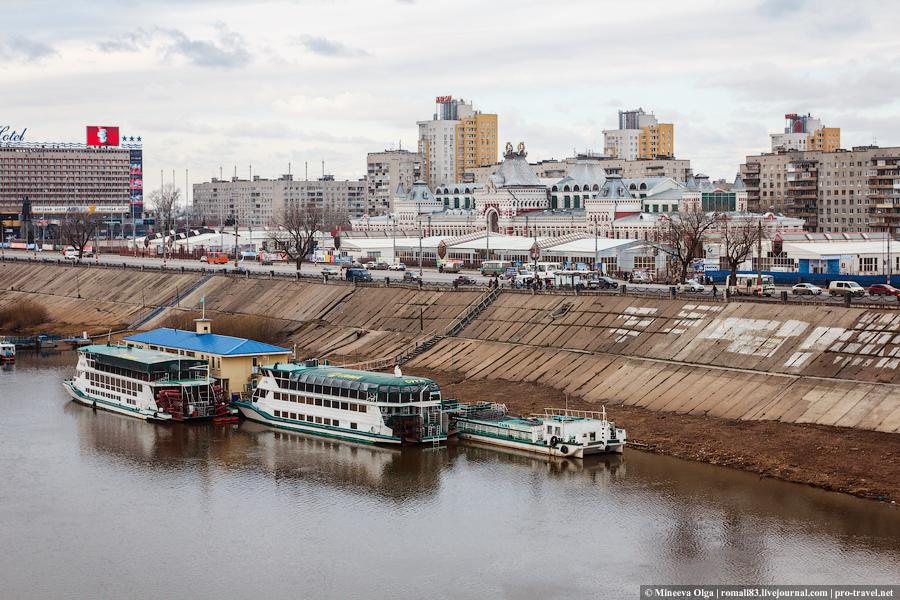 Нижний Новгород. Прогулка по городу