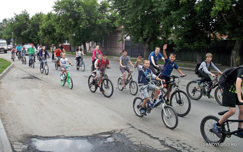 Велопробег в Троицке 2016