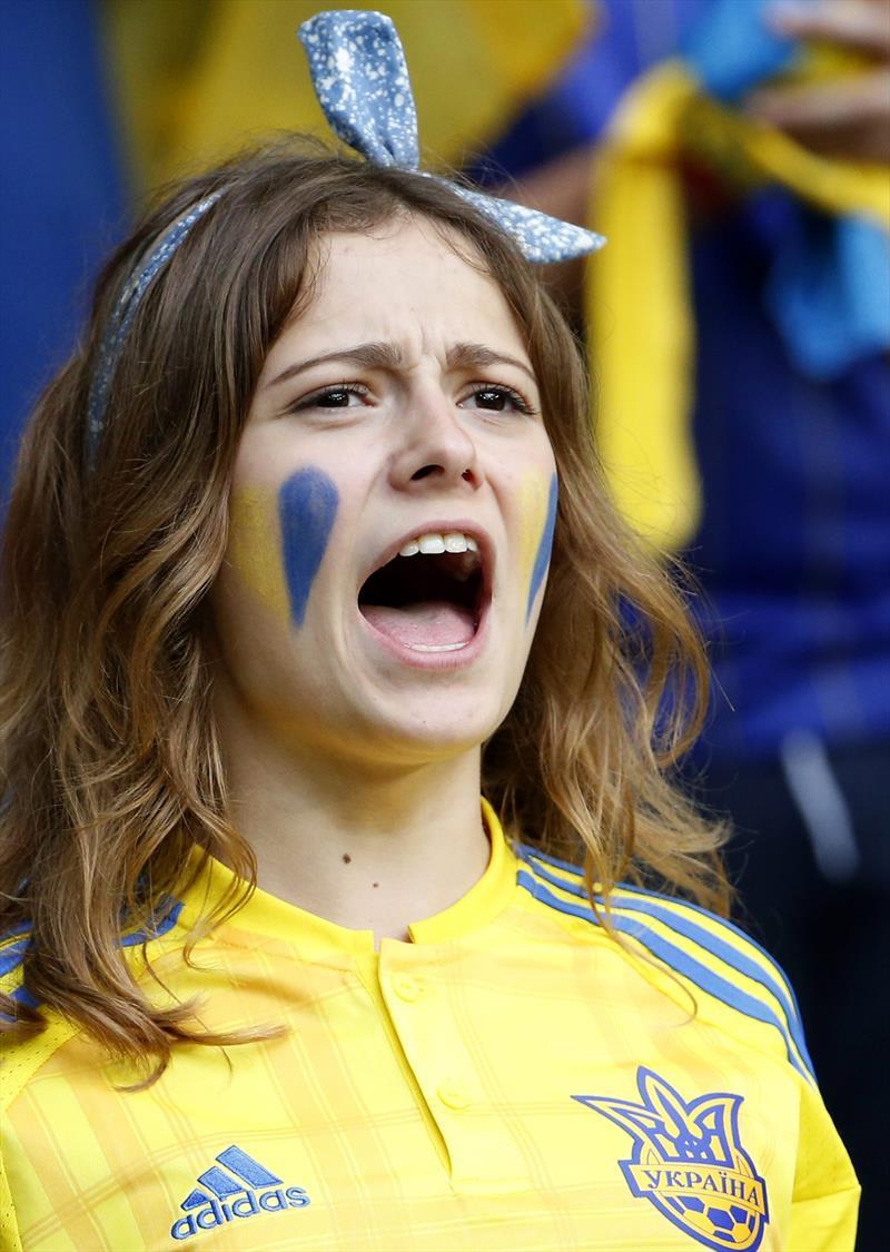 фанаты на матчах первого тура EURO-2016 fans / first games
