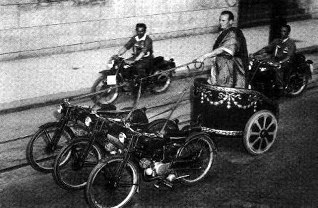 Колесница запряженная мотоциклами