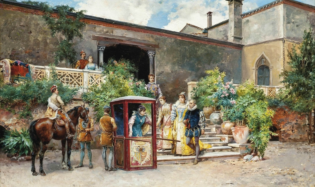 1880 Добро пожаловать (The welcome)