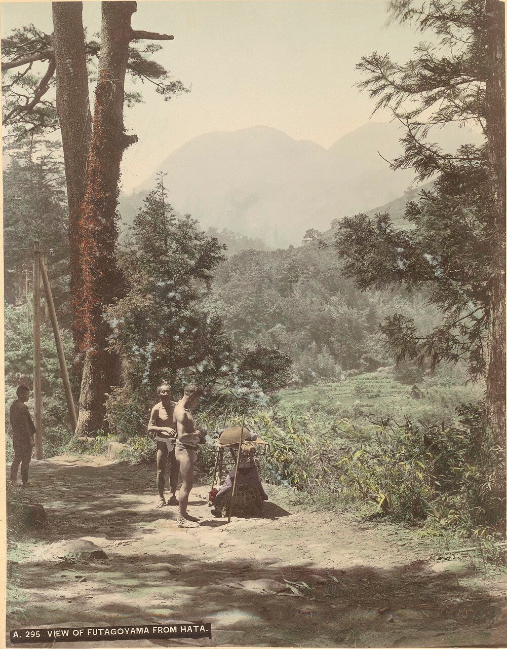 Вид Футагоямы из Хата