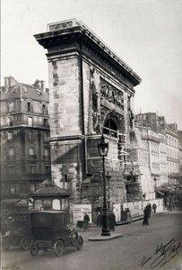1918. Защита памятников  во время войны. Ворота Сен-Дени