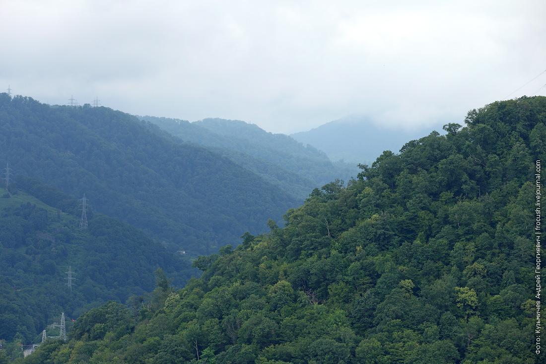 дагомыс облака горы фото