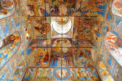Фрески церкви Иоанна Богослова в Ростове Великом.