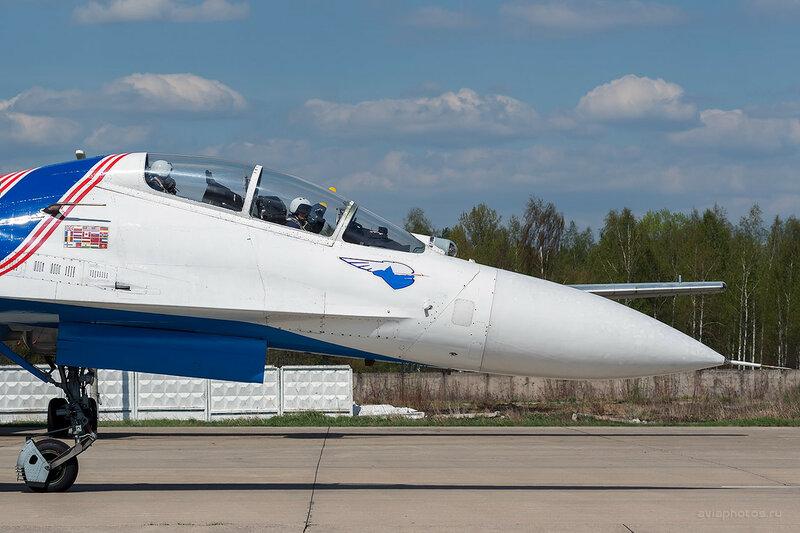Сухой Су-27УБ (23 синий) ВКС России D803323