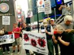 Митинг на Таймс-сквер