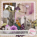 "Скрап набор ""Kitty Kat Scrapbooking Kit"""