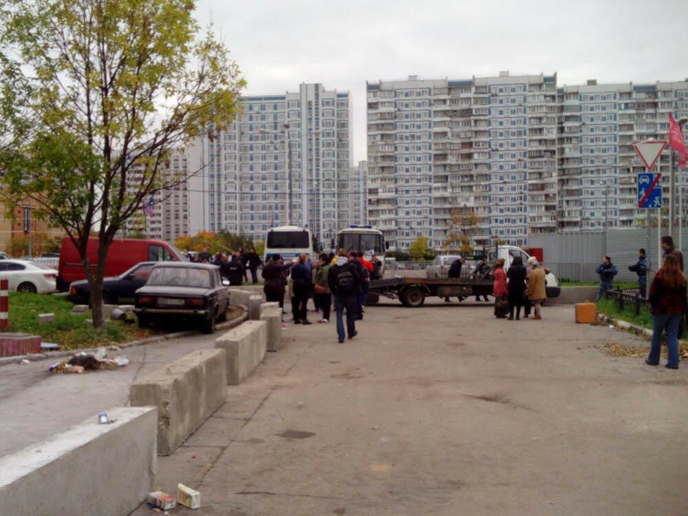 Застройка в Коньково