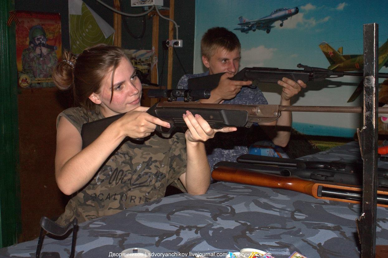 Стрелковый тир - Волжский - Парк ВГС
