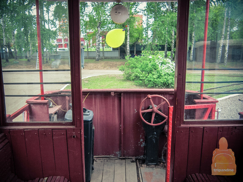 На старинном трамвае можно прокатиться и сейчас