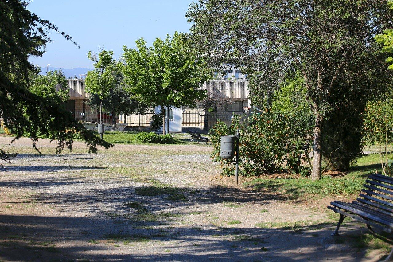 Гранада. Университетский парк Фуэнте Нуэва (Jardines universitarios Fuente Nueva)