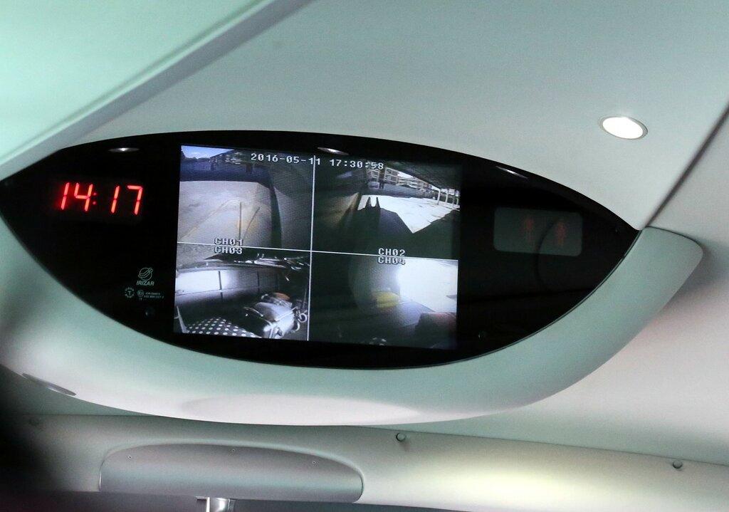 Кордова-Мадрид (Autovía del Sur - A4). Видеокамеры в багажниках автобуса